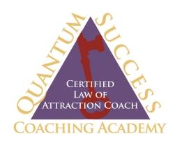 Certified LOA Coach from Quantum Success Coaching Academy