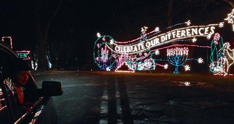 Capital Holiday Lights in Washington Park, Albany, NY