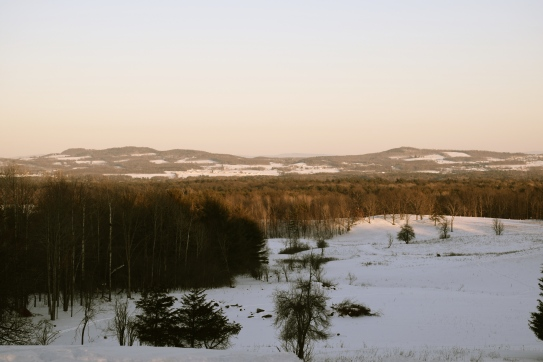 Looking east toward Vermont - can see for miles.