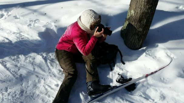 When down - take photos