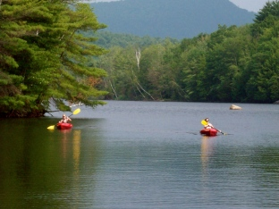 Kayaking in the Adirondacks