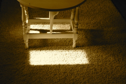 Sunlight in the living room