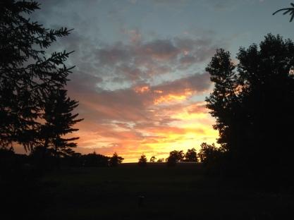 Sunset near my home