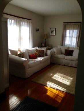 Captivating light in living room