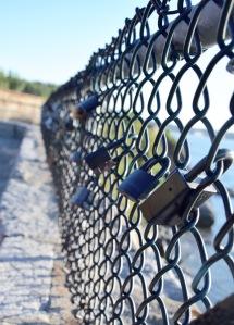 Love Locks - Cliff Walk in Newport Rhode Island