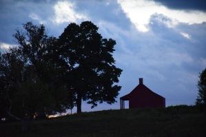 Neilson House at sunset