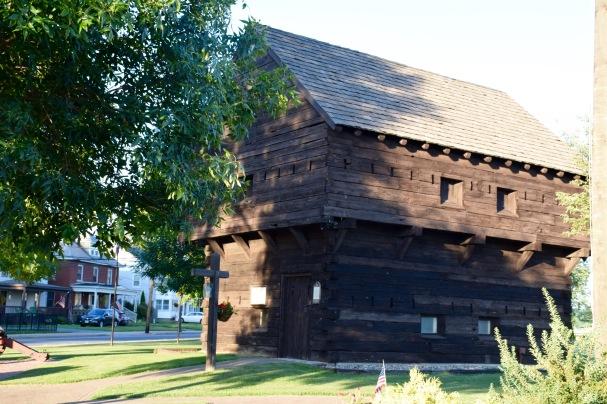 Stillwater Block House in summer