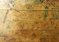 Old desk found in storage area