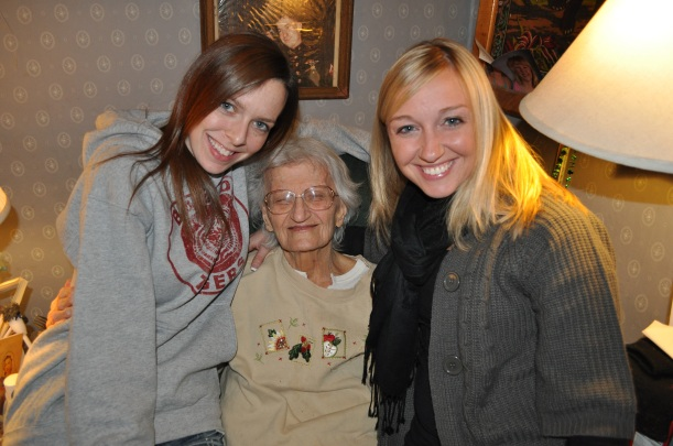 Cassie, Mom and Allison