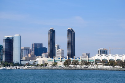View of San Diego from Seaport Village