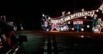 A wonderland of holiday lights