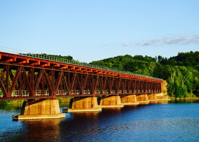 Stillwater train trestle