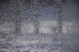 Iced porch windows