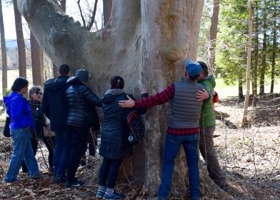 Group hug at Kripalu